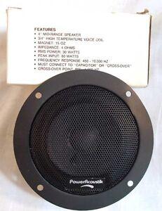 """New Power Acoustik SPA-104 4"""" Mid Range Midrange Speaker Car Home Audio"""