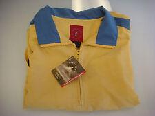 NEW Forrester's Ladies Half Zip Straw/Aqua Golf Wind Shirt Size Large (Rd512)