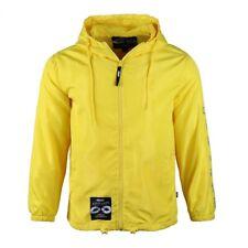 Men's front embroider reflective sleeve logo lightweiht streetwear windbreaker