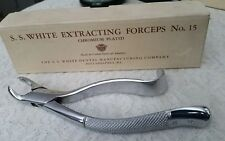 S.S.White Dental Extracting Forceps No.88L-2 original box