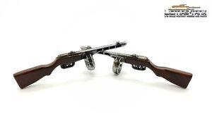 2er-SET  PPSh-41 Russische Maschinenpistole aus  2. Weltkrieg im Maßstab 1:16