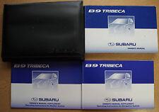 SUBARU B9 TRIBECA OWNERS MANUAL HANDBOOK WALLET NAVI 2005-2007 PACK 14227