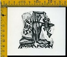 Ex Libris Originale Alexandro Radulescu c 089