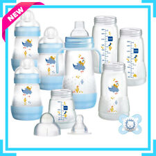 Mam Easy Start Anti-Colic Baby Bottle Starter Set Blue