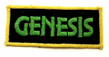 GENESIS Original Vintage 1970`s Embroidered Sew On Patch (not badge cd)  MR129