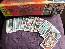Topps 1988 Official Complete Baseball Card Set-cards are in MINT condition