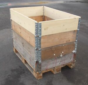 Euro Pallet Collars 1200mm x 800mm In Good Used Condition