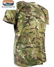 Niños Chicos Camuflaje Camiseta Ejército-mtp/Woodland Camo/5-6 años-Bnwt
