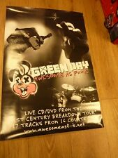 "GREEN DAY AWESOME AS F""""K  ALBUM PROMO POSTER 30 ""X 20"""