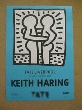 More details for keith haring - original exhibition poster (1) - tate liverpool (2019)
