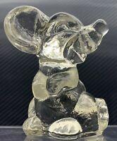 Mouse Figure Vintage 1980 GOEBEL CRYSTAL GLASS FIGURINE Art Glass Mice