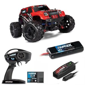TRAXXAS LaTrax Teton 1/18 Monster Truck 4WD RTR Red w/ 2.4GHz Radio #76054  TRAX