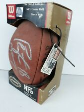 Peyton Manning #18 signed NFL football Authenticated 2001