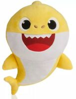 New PINKFONG Baby Shark Singing Plush English Yellow Doll WoWwee IN HAND