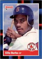1988 Ellis Burks Donruss Baseball Card #174