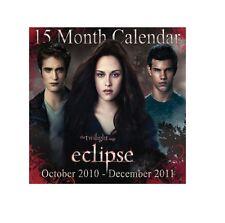 15 Month TWILIGHT ECLIPSE CALENDAR (October 2010 - December 2011)