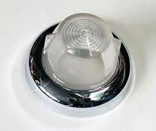 Lucas L658 Lens & Chrome Rim. For; Triumph TR250 TR4A TR5 & Lotus Elan, 510897