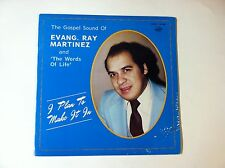 Ray Martinez and The Words of Life - I Plan To Make It In - NEW RARE vinyl LP