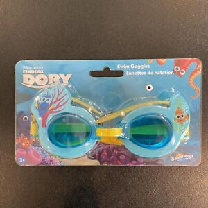 SwimWays / Spin Master Kids Swim Goggles Disney Finding Dory Blue/Yellow