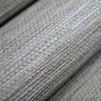 Vinyl Modern Textured Grasscloth Washable Plain Roll Wallpaper Water Resistant