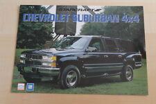 76550) Chevrolet Suburban Starcraft K1500 Prospekt 199?