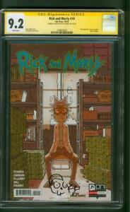 Rick and Morty 19 CGC SS 9.2 Kyle Starks Sketch Breaking Bad Poster Homage