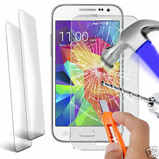 Twin Pack Genuine Tempered Glass Screen Protector for Samsung Galaxy Core Prime