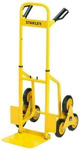 Sack Barrow 3 Wheel Folding Stair Climbing Trolley Truck, 120kg  Stanley FT521