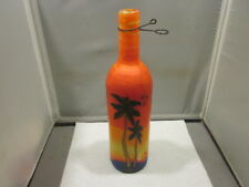 "Palm Tree Bottle JIMMY BUFFET STYLE 12"" TALL"