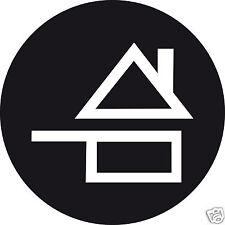 100 stickers vinyle FAIT MAISON fond noir 1 cm adhesif pour menu ou addition