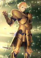 [JP] Fate Grand Order FGO Gilgamesh + 0-100SQ starter account