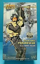 """BBI 21164 ELITE FORCE 1/6 US AIR FORCE PARARESCUE 12"""" 2002 ACTION FIGURE MIB"""