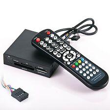 "3.5"" Internal Memory Card Reader w/ remote control for PC & Windows Media Center"