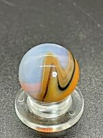 "VINTAGE VITRO AGATE  OPAL MARBLE VITRO PATCH MARBLE 0.629"" NM-M"
