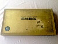 Vintage 1961 GERMAN Deluxe Gold Box Edition MONOPOLY Board Game VGC