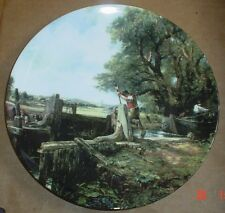 Royal Doulton Constable The Lock Collectors Plate