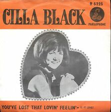 7inch CILLA BLACK you've lost that lovin feelin HOLLAND EX +PS