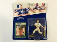 1989 Starting Lineup MLB Mark McGwire Action Figure Oakland A's SEALED
