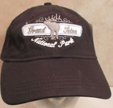 Grand Teton Hat Cap National Park Walking Moose Wyoming USA Embroidery New