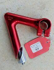 """Nitto Red Jaguar NJ Pro AA Quill Stem - 100mm 25.4mm 1"""" NJS 58° - NEW no Box"""