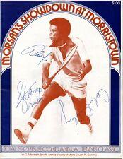 Arthur Ashe Tennis Champion Signed Program Stan Smith Colin Dibley BAS COA
