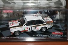 FIAT - 131 ABARTH - RALLY MONTECARLO - 1981 - SCALA 1/43