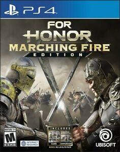 For Honor - Marching Fire Edition for PlayStation 4 [New Video Game] PS 4