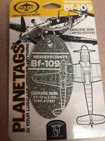 Messerschmitt Bf 109 Plane Tag / Planetags – World War 2 Veteran - Free Shipping