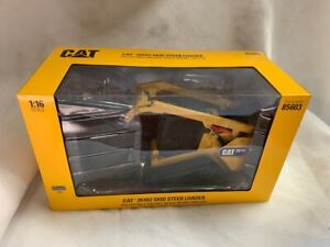 1/16 scale Caterpillar CAT 297D2 Skid Steer Track Loader ERTL #85603 NIB
