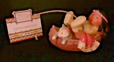 """1994 """"Little Fish Tale"""" Litttle Boy With Canoe Friends Of The Feather 115665"""