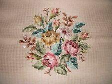 EP 3016/6 Vintage Dritz Tramme Rose Floral Bouquet Needlepoint Canvas
