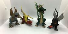 Toy Major Trading Co. Dragons Elite Dark Fireball Megawings 4 Piece  #19K