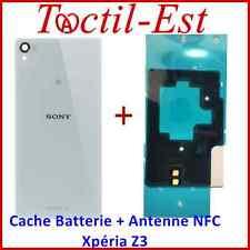 Cache Batterie Vitre Arrière Couvercle pour Sony Xperia Z3 + Antenne NFC