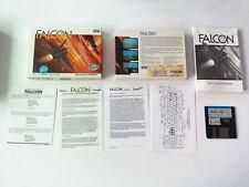 FALCON the f-16 fighter simulation MIRROR SOFT Atari ST FRANCAIS